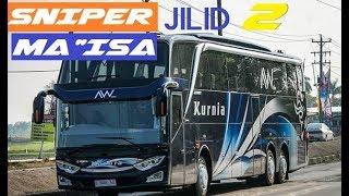 Bus SNIPER Jilid 2 !! Baru Rilis Udah BALAP KURNIA JETBUS 3 SCANIA K-410