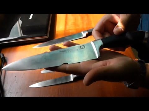 Набор ножей на переточку...))