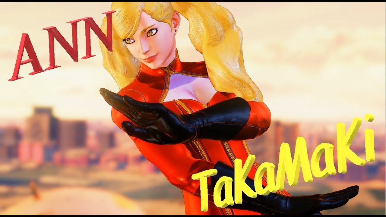 🌠 【MODS】 SFV - Karin as Ann Takamaki (P5) 🌠