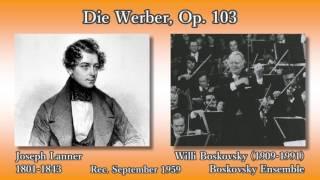 Lanner: Die Werber, Boskovsky Ensemble (1959) ランナー ワルツ「求婚者」 ボスコフスキー