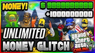 *NEW*&*SOLO* MONEY GLITCH MAKES YOU $50000000 IN GTA 5 ONLINE...(unlimited money)