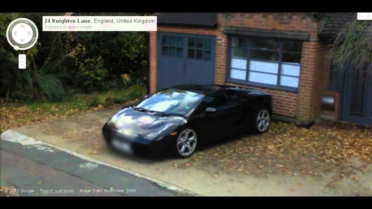 Supercars Street View London Youtube