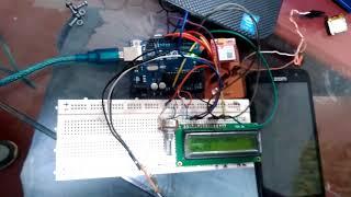 Arduino, sim800, sensor de temperatura y lcd Video