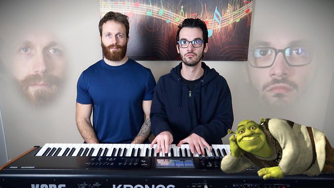 """We play """"All Star"""" but it's Shrek's voice"""