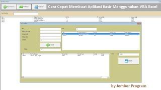 Cara Membuat Aplikasi Kasir Menggunakan VBA di Microsoft Excel Lengkap