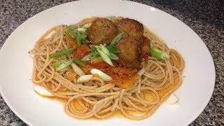 Рецепт Мясные Тефтели в томатно-овощном соусе