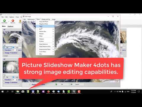 How to make a picture slideshow with Picture Slideshow Maker 4dots