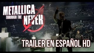 Metallica: Through the Never TRAILER, En Español HD 2013