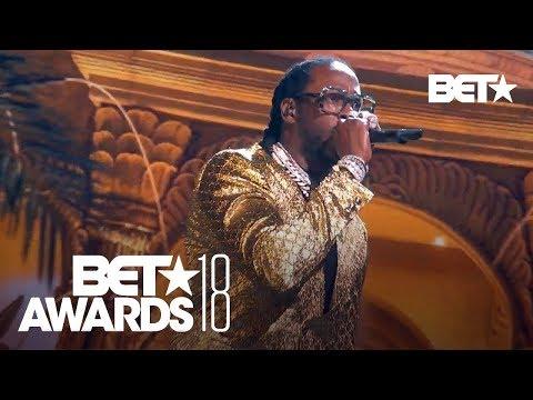 "YG, 2 Chainz, Nicki Minaj & Big Sean In A Bomb ""Big Bank"" Performance!   BET Awards 2018"