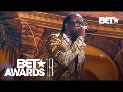 YG, 2 Chainz, Nicki Minaj & Big Sean In A Bomb 'Big Bank' Performance! | BET Awards 2018