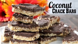 Coconut Crack Bars Recipe