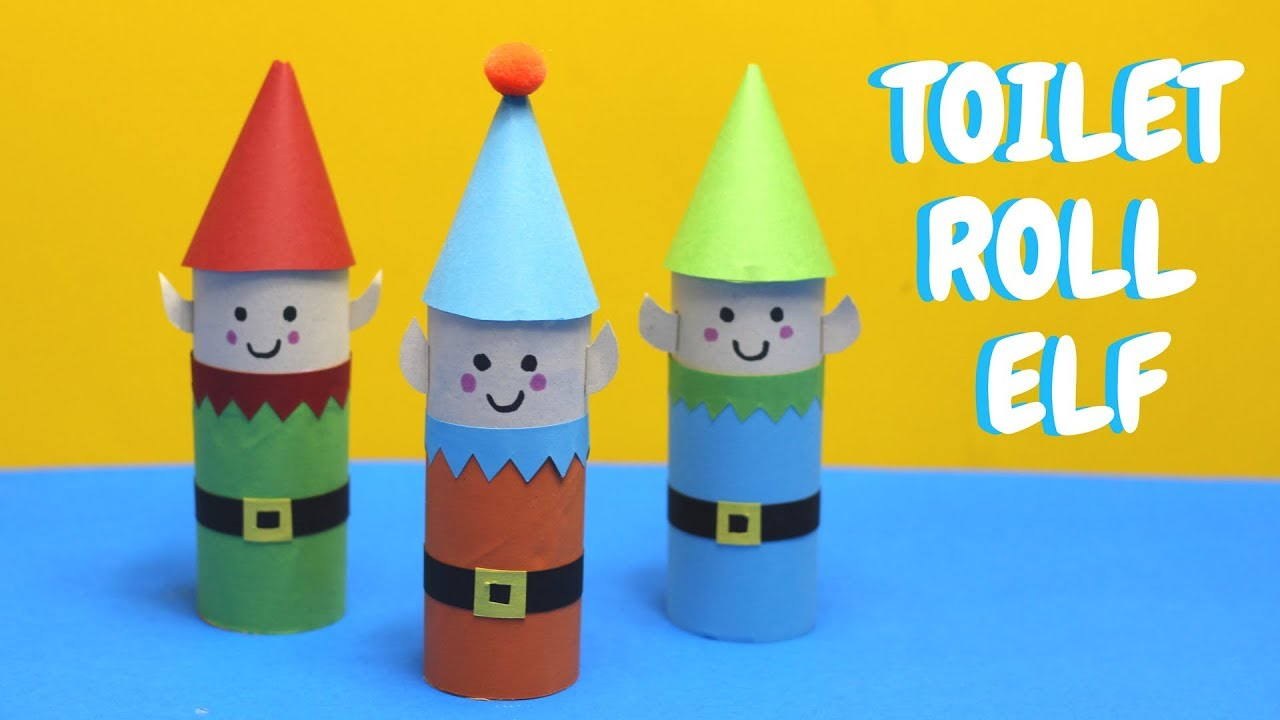 Toilet roll elf christmas crafts toilet paper roll craft youtube toilet roll elf christmas crafts toilet paper roll craft jeuxipadfo Image collections