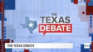 THE TEXAS DEBATE (FULL): U.S. Sen. Ted Cruz, R-Texas, and U.S. Rep. Beto O