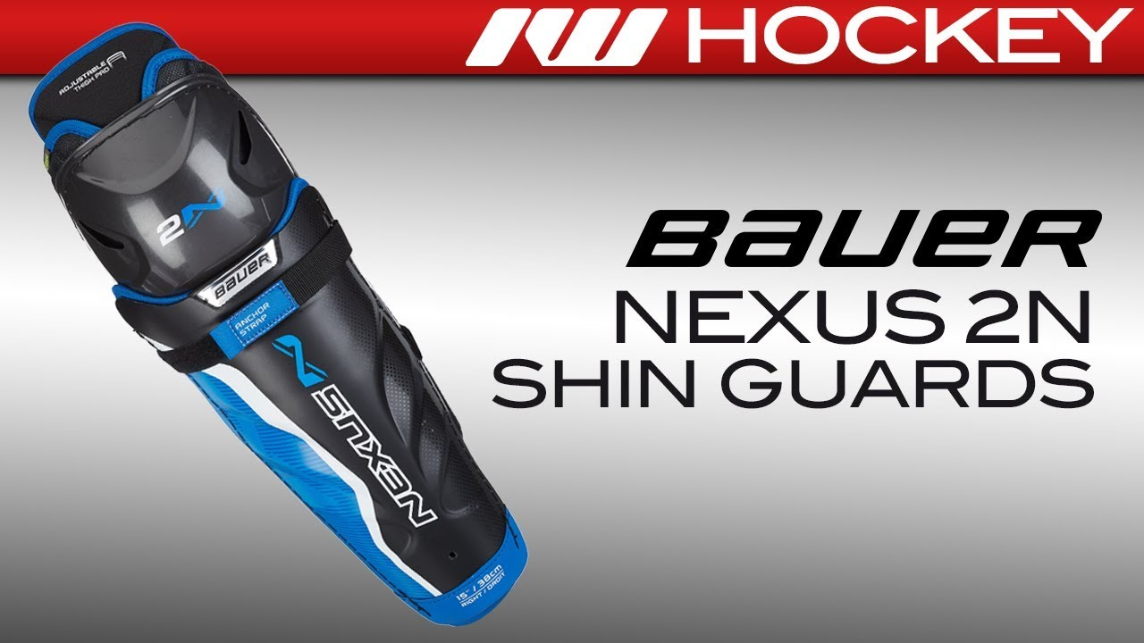 2ae165a5615 Bauer Nexus 2N Shin Guard Review - YouTube