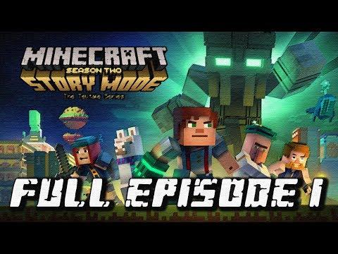 Minecraft: Story Mode Season 2 - Full Episode 1: Hero in Residence Walkthrough 60FPS HD