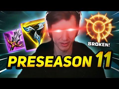 HASHINSHIN | FIRST GAME IN THE PRESEASON 11 | PTA AATROX?!