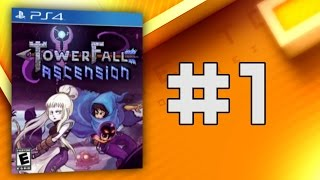 Nein!? DOCH!! AHHH!!1 - Towerfall: Ascension #1 - Time to Drei