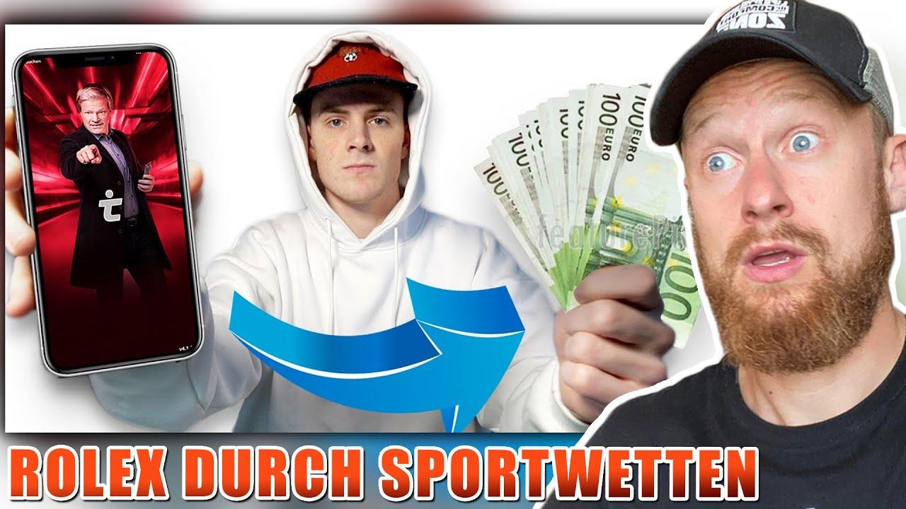 Fritz Meinecke reagiert auf Durch SPORTWETTEN zur ROLEX | Trade Up von Dave