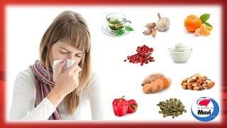Los mejores alimentos para combatir el resfriado comun