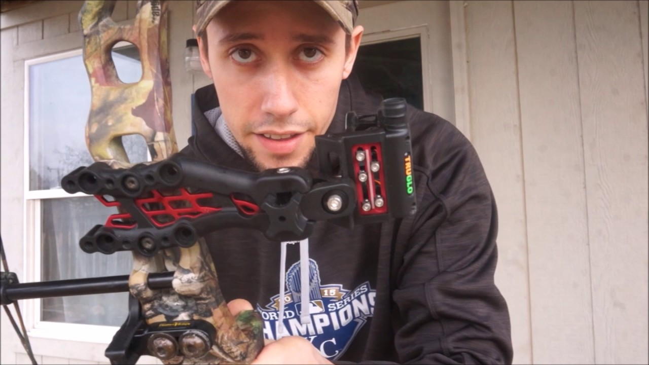 how to french tune your bow in the backyard youtube