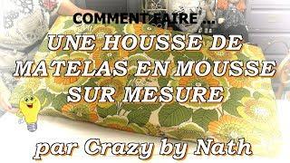 Dans ce tuto, Nath vous explique une technique simple pour habiller un matelas de mousse ... Que ce soit pour faire l'assise d'un canapé en palette, très à la ...