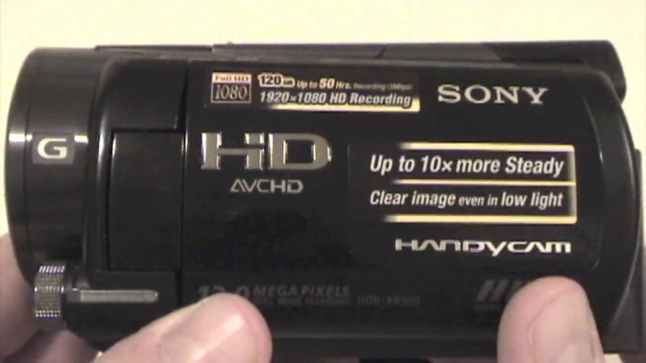 SONY HDR XR500 DRIVERS WINDOWS 7