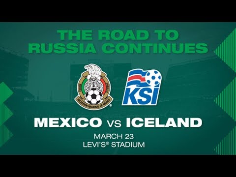 Mexico to Face Iceland on March 23 at Levi's® Stadium