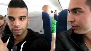 Félt a repülőn Kállay-Saunders - Videó a fedélzetről