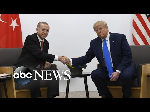 Turkey moves military convoys and special forces to Syria border l ABC News
