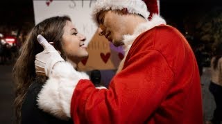 Santa Kisses Girls on the Naughty List