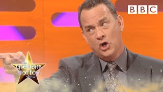 What Tom Hanks said to the Queen | The Graham Norton Show - BBC