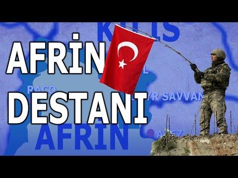 Afrin Operasyonunu Hiç Böyle İzlemediniz! (Zeytindalı Harekatı - Haritalı Anlatım)