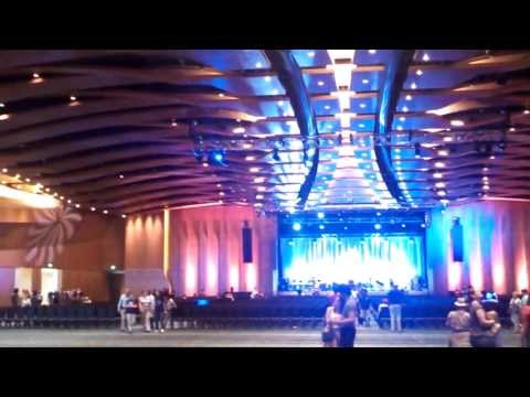 The Grand Opening of the New Music City Center, Nashville Tennessee on May 19,2013.