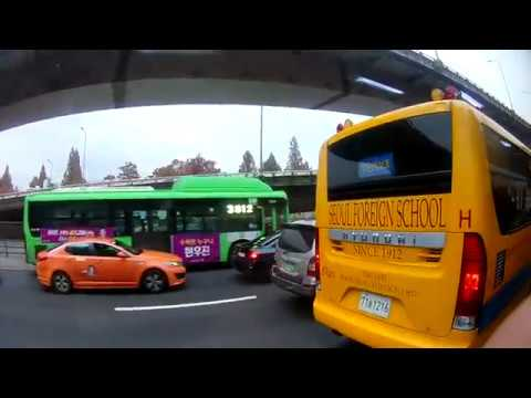 Stau in Seoul | Verkehr Südkorea | Autos koreanisch | koreanischer Alltag