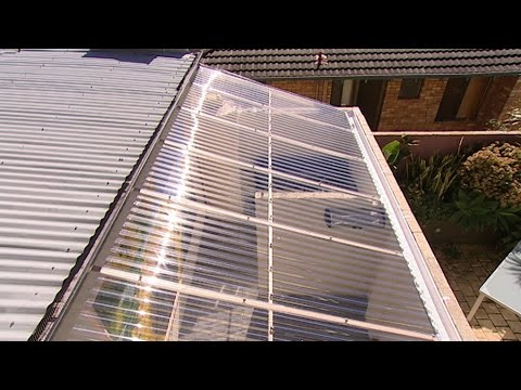 A solarium can heat your home youtube for Solarium home
