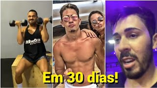 Carlinhos Maia lança desafio para volta a ser fitness