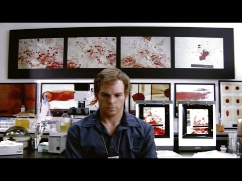 Dexter  The Real Blood Spatter Detectives Short Documentary
