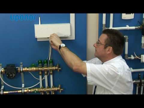 Uponor Thermostat Radio Control System Youtube