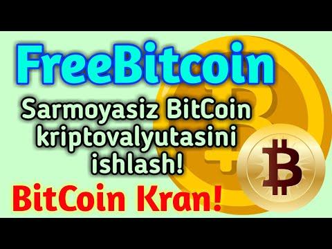 FreeBitcoin / SARMOYASIZ BITCOIN KRIPTOVALYUTASINI ISHLASH 💰 BITCOIN KRAN!