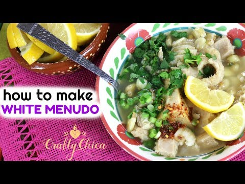 How to Make White Menudo || Mexican Food Recipe