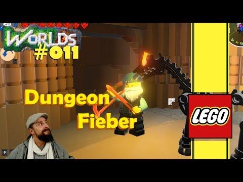 Lego Worlds deutsch 🏠 011:  Erste Stadt, Dungeon Fieber & Mumien Skin 🏹 german gameplay