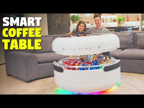 futuristic coffee table with