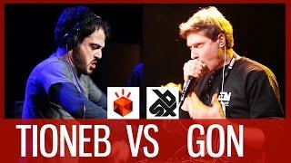 TIONEB vs GON | Grand Beatbox LOOPSTATION Battle 2016 | 1/4 Final