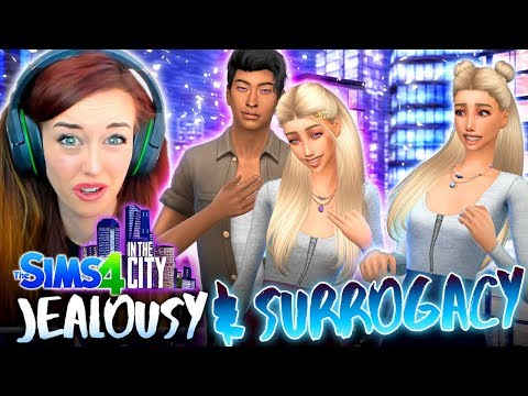 JEALOUSY & SURROGACY... 🤰(The Sims 4 IN THE CITY #49!💒)
