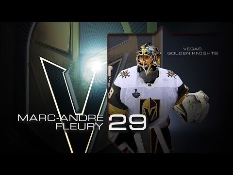 Fleury named third star of the week