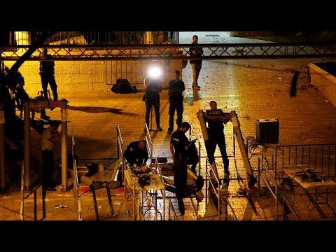 euronews (in Italiano): Israele toglierà i metal detector dalla spianata delle moschee