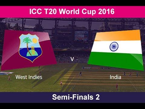 ICC World T20 - Semifinals - India Vs. West Indies at Mumbai from 7.00 p.m.
