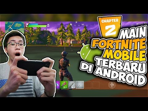 Main Fortnite Mobile Chapter 2 Di Android! Update Berapa Besar? Gameplay Terbaru 2019 - 동영상