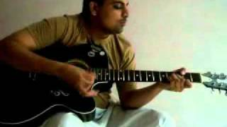 musafir hoon yaaron on guitar by manish