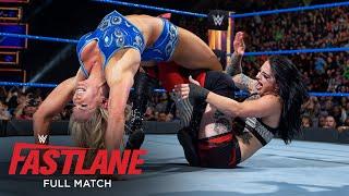 FULL MATCH - Charlotte Flair vs. Ruby Riott - SmackDown Women's Title Match: WWE Fastlane 2018